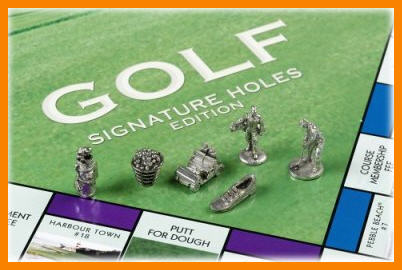 golf monopoly game pieces